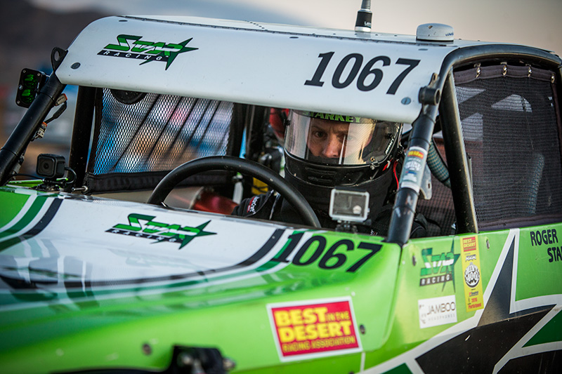 Roger Starkey, Alumi Craft Race Cars, The Mint 400, Bink Designs