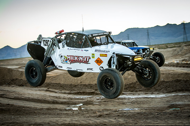TJ Tuls, Alumi Craft Race Cars, Milk N It Motorsports, Baja Designs, The Mint 400, Bink Designs