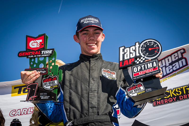 Eliott Watson, Lucas Oil Off Road, Alumi Craft Pro Buggy, BFGoodrich Tires, Bink Designs