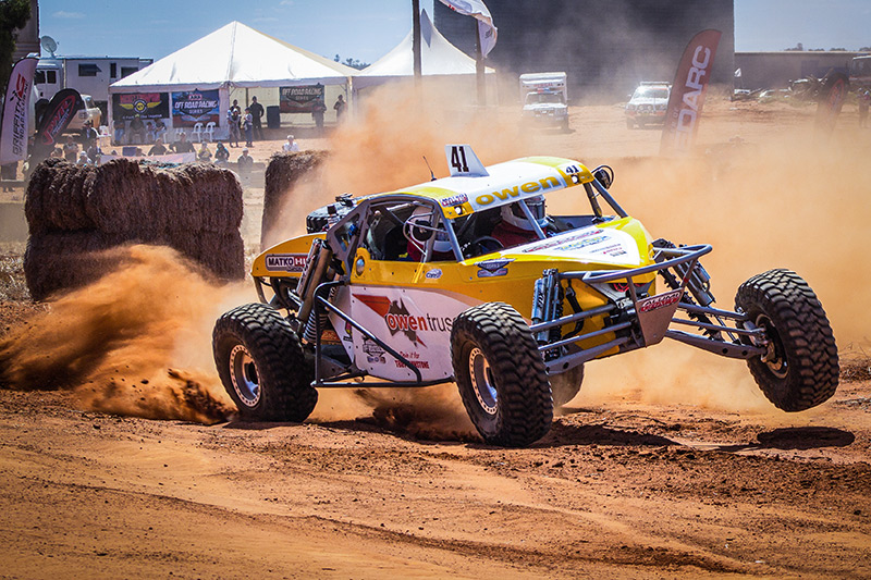 Alumi Craft, Ausi Special, Pro Buggy, Reg Owen, FOX, ARB Series