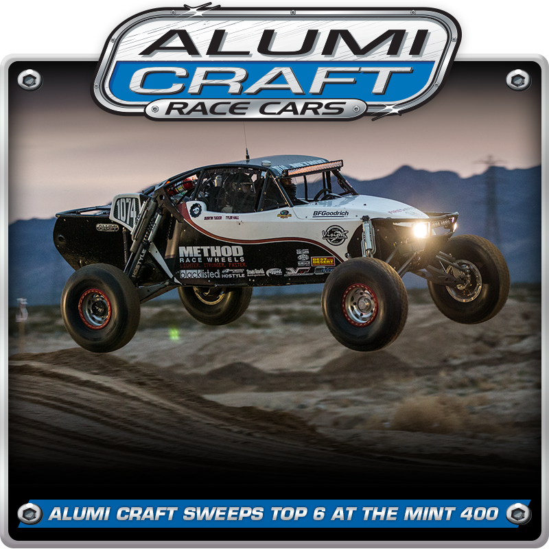Brock Heger Goes 3 For 3, Alumi Craft Sweeps Top 6 At The Mint 400
