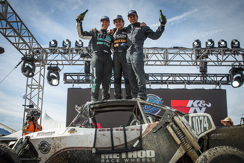 Brock Heger, Mint 400, BITD Champion, Bink Designs