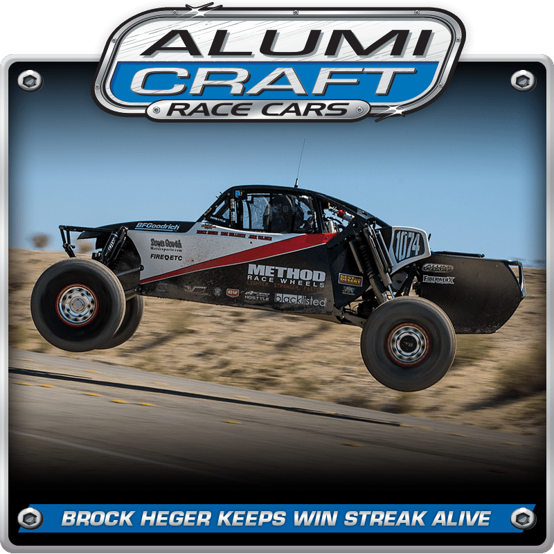 Alumi Craft Racer Brock Heger Keeps Streak Alive
