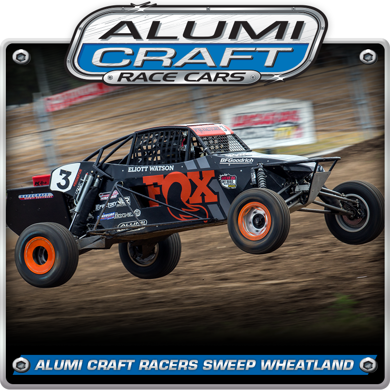 Alumi Craft Racers Sweep Pro Buggy Podium At LOORRS Wheatland Opener