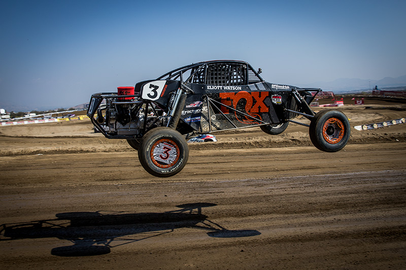 Alumi Craft Race Cars, Pro Buggy, Sterling Cling, FOX, Bink Designs