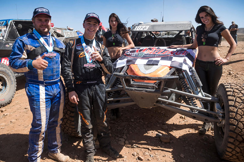 Broc Dickerson Wins Tijuana SCORE Desert Challenge, Alumi Craft Race Cars, Class 10