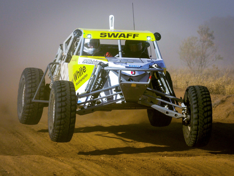Shawn Swaffield, Alumi Craft Race Cars, Alumi Craft Ausi Car, Tatts Finke