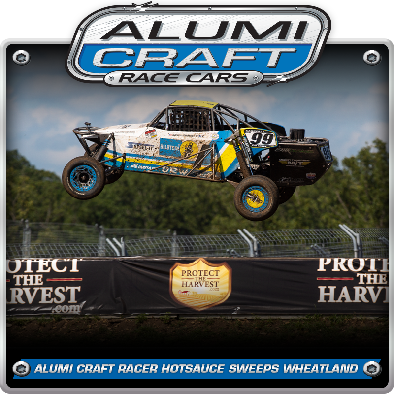 Alumi Craft Racer Darren Hardesty Jr. Sweeps Wheatland