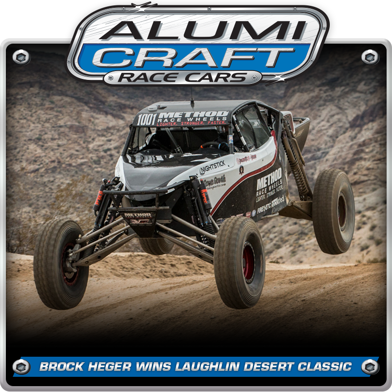 Brock Heger Wins Laughlin Desert Classic