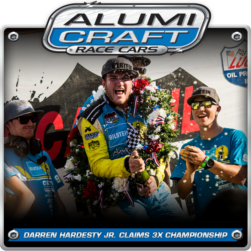 Alumi Craft Racer Darren Hardesty Jr. Claims Third Consecutive Pro Buggy Championship