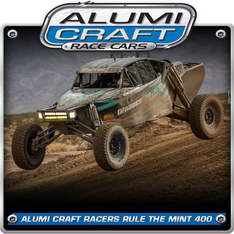 Alumi Craft Racers Take On Great American Off Road Race and Rule The Mint 400