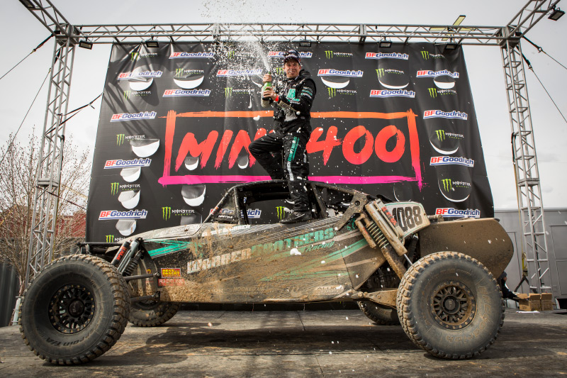 Chase Warren, Alumi Craft Race Cars, The Mint 400 Class 1000 Champion, Bink Designs