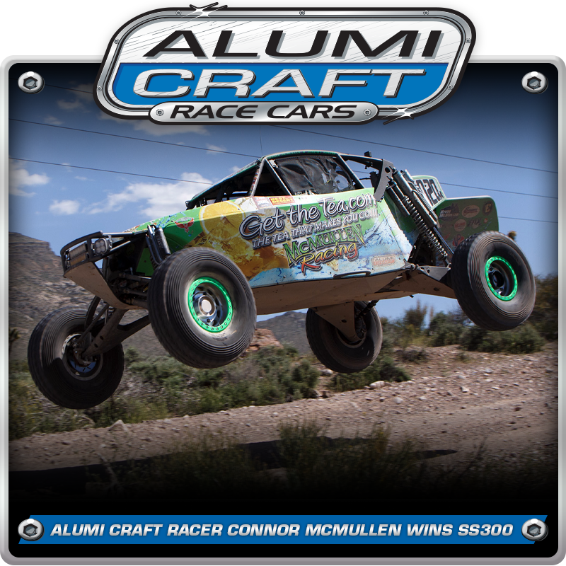 Class 10 Racer Conner McMullen Wins BITD Silver State 300 With Alumi Craft Cars At The Top