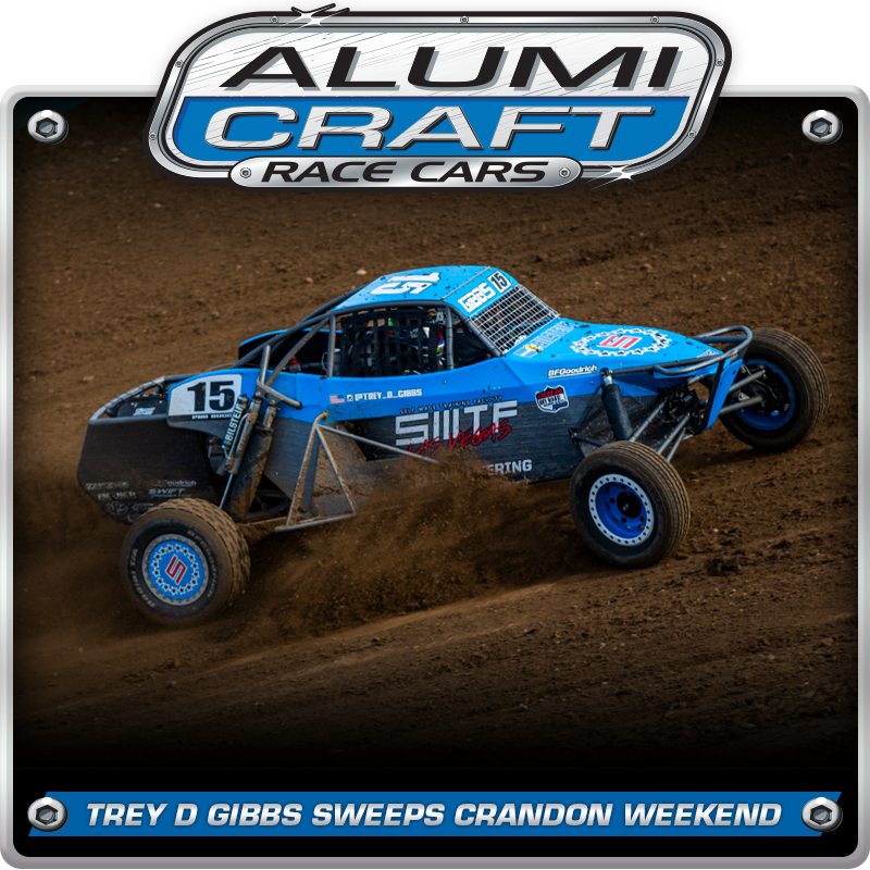 Trey D Gibbs Sweeps Crandon Brush Run With Alumi Craft Pro Buggy