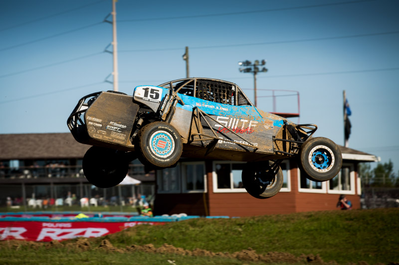Alumi Craft Super Buggy, Trey D Gibbs, Lucas Oil Midwest Short Course League, Crandon, Bink Designs