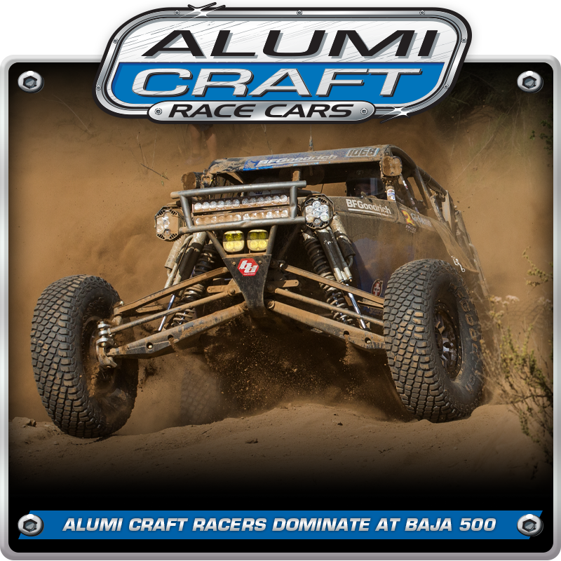 Cody Reid Wins SCORE Baja 500 and Alumi Craft Class 10 Racers Dominate Division