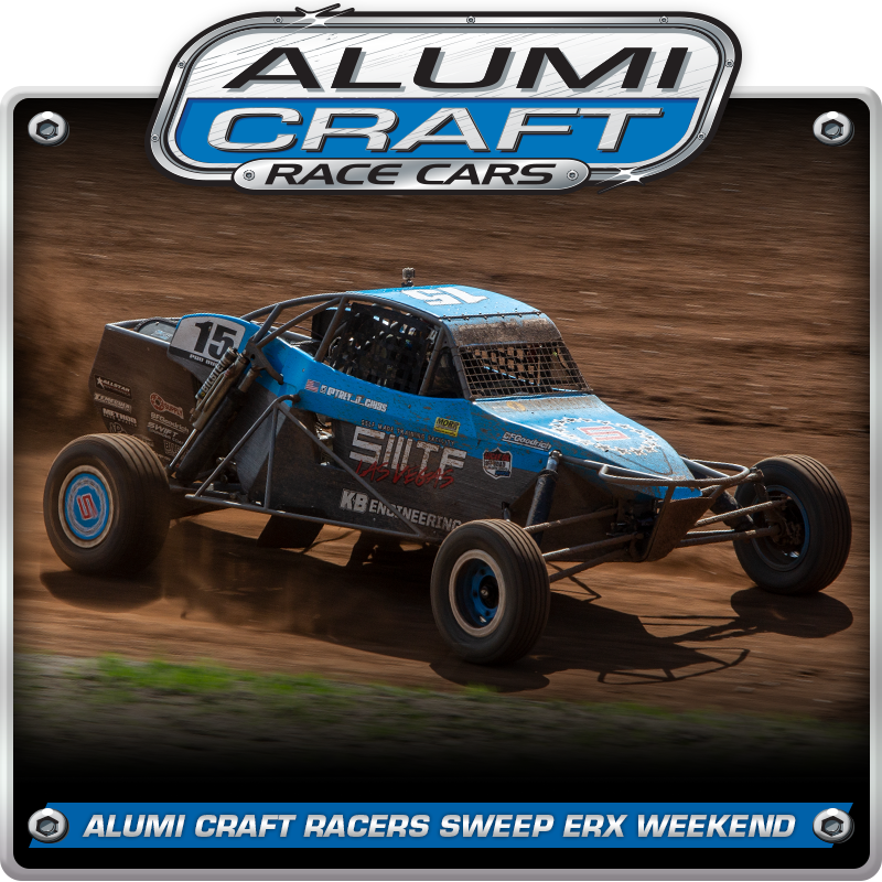 Alumi Craft Race Cars Sweep ERX Podiums with Trey Gibbs Winning Back-To-Back