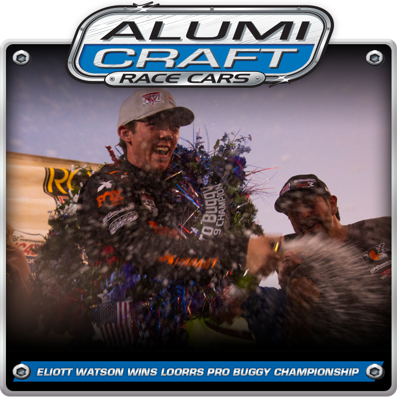 Alumi Craft Racer Eliott Watson Wins 2019 Lucas Oil Off Road Pro Buggy Championship
