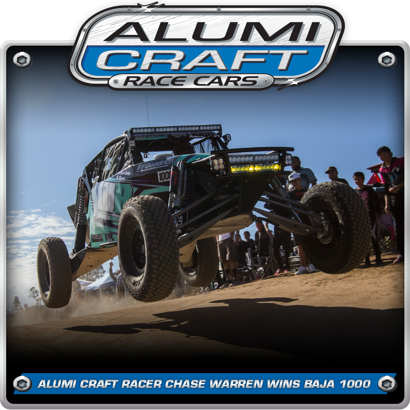 Alumi Craft Racer Chase Warren Captures Overall Buggy & Class 10 Win At The Baja 1000