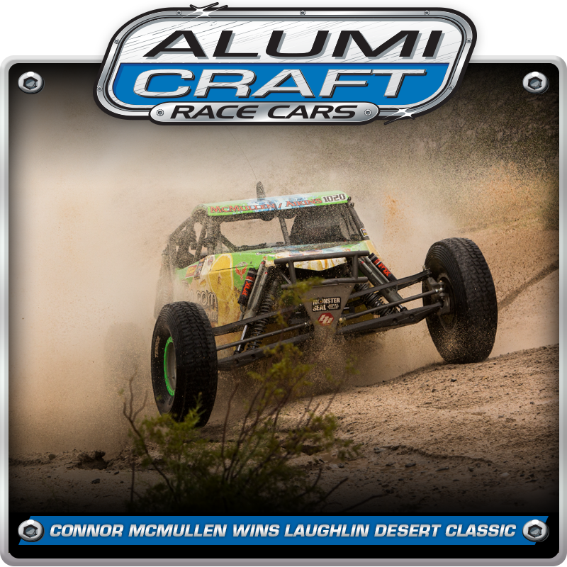 Alumi Craft Racer Conner McMullen Wins BITD Laughlin Desert Classic With Back To Back Victories