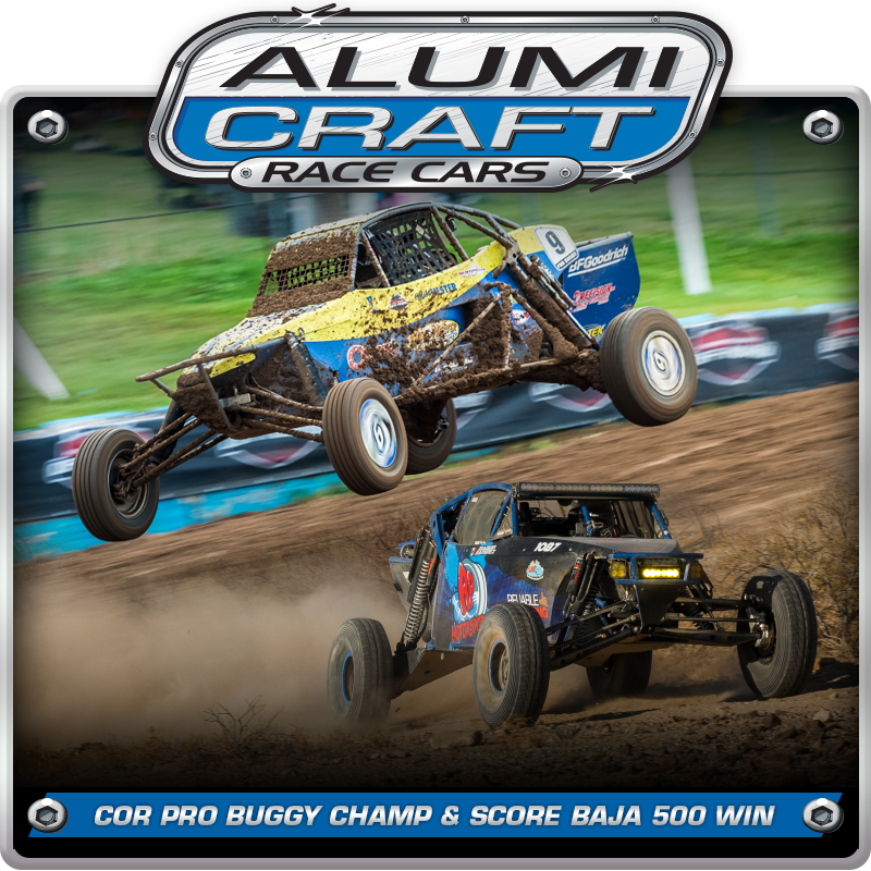 Alumi Craft Racers Go Big Winning COR Pro Buggy Championship And SCORE Baja 500