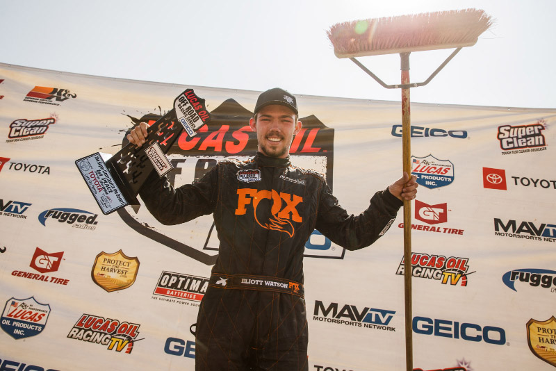 Eliott Watson, Lucas Oil Off Road, Pro Buggy, Weekend Sweep, FOX, Bink Designs