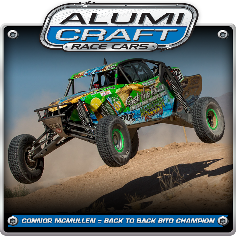 Alumi Craft Racers Conner McMullen Sweeps The BlueWater Desert Challenge And Is Crowned Back-To-Back BITD Champion